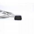 Nihon Kohden TL-201T/ TL-101T/BSM-2301 spo2 sensor,9pin