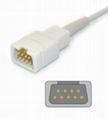 Novametrix 512/513 adult spo2 sensor,9pin