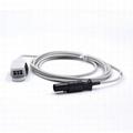 Spacelabs 90651A-08/ 015-0130-00/015-0130-01 adult spo2 sensor,7pin