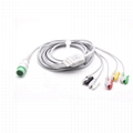 Comen compatible one-piece ECG Cable