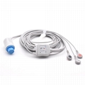 GE-Datex compatible one-piece ECG Cable