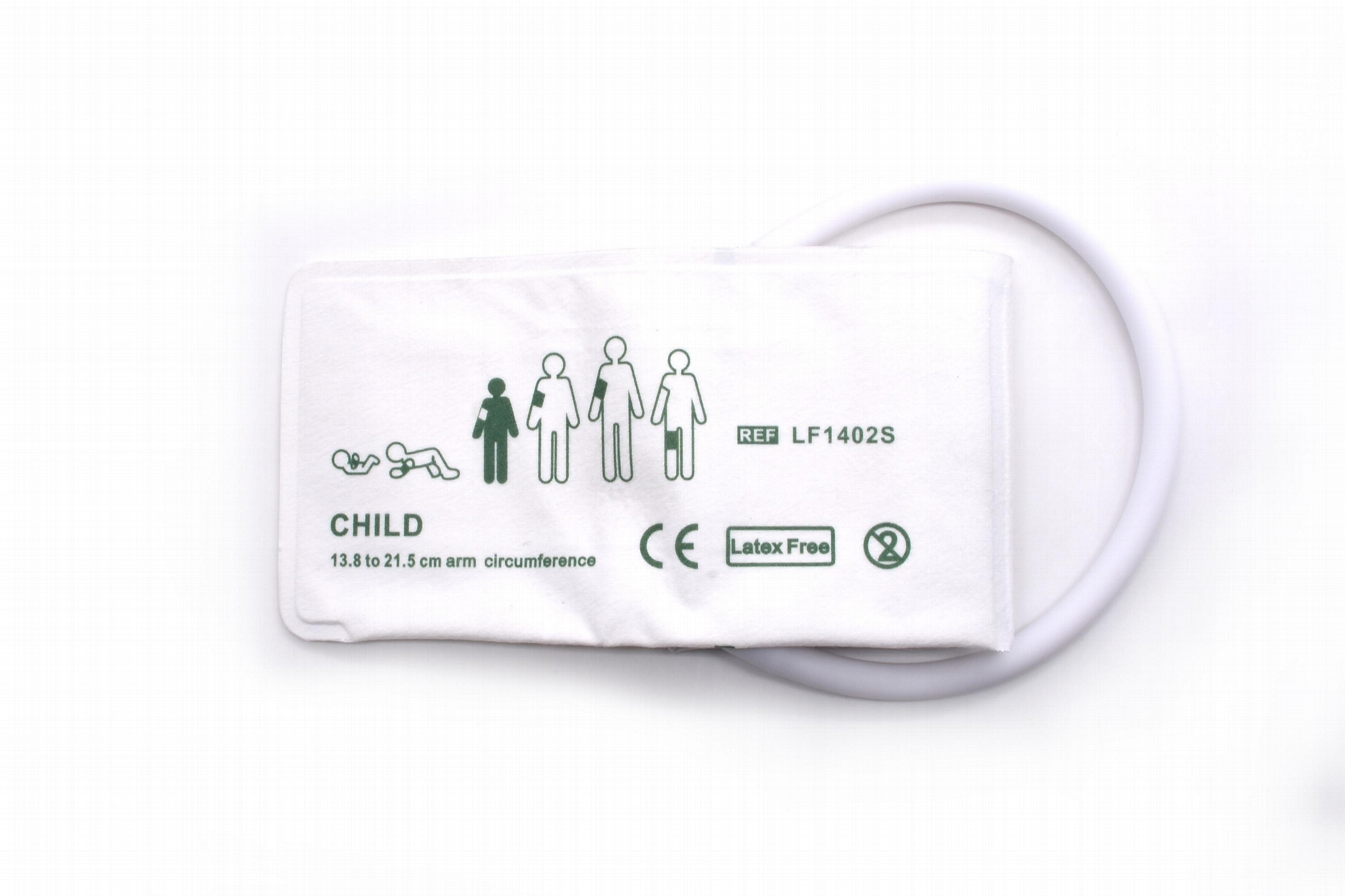 Disposable blood pressure nibp cuff for child 13.8 to 21.5cm 1