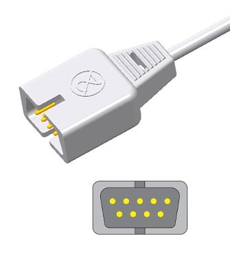 Nonin Adult/Neonate 6000CA/7000N Disposable spo2 sensor,9pin 2