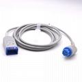 Datex Ohmeda Compatible ECG Trunk Cable - 545307-HEL