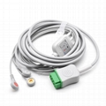 GE Healthcare > Marquette Compatible Direct-Connect ECG Cable - 2001292-001 1