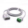 ECG Trunk Cable Compatible GE Healthcare > Marquette OEM Part # 2017003-001