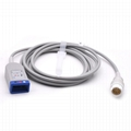 3 leads ECG Trunk Cable Compatible Philips - M1500A