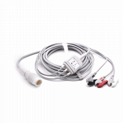 Philips Compatible Direct-Connect ECG Cable 3 leads Grabber