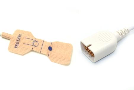 Nihon kohden TL-251T Adult/Neonate /Pediatric/Infant Disposable spo2 sensor,9pin 3