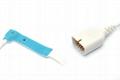 Nihon kohden TL-251T Adult/Neonate /Pediatric/Infant Disposable spo2 sensor,9pin 4