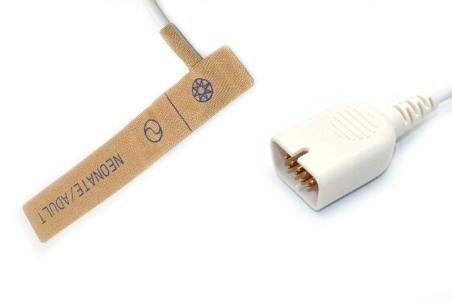 Nihon kohden TL-251T Adult/Neonate /Pediatric/Infant Disposable spo2 sensor,9pin 8