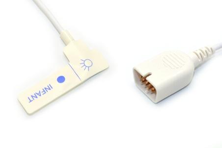 Nihon kohden TL-251T Adult/Neonate /Pediatric/Infant Disposable spo2 sensor,9pin 11