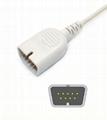 Nihon kohden TL-251T Adult/Neonate /Pediatric/Infant Disposable spo2 sensor,9pin 16