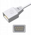 Novametrix AS110 Adult/Neonate /Pediatric/Infant Disposable spo2 sensor 4