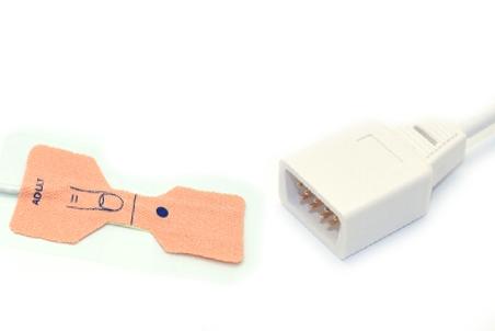 Novametrix AS110 Adult/Neonate /Pediatric/Infant Disposable spo2 sensor 5