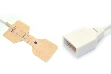 Novametrix AS110 Adult/Neonate /Pediatric/Infant Disposable spo2 sensor 7