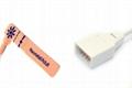 Novametrix AS110 Adult/Neonate /Pediatric/Infant Disposable spo2 sensor 9