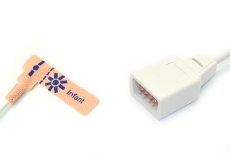 Novametrix AS110 Adult/Neonate /Pediatric/Infant Disposable spo2 sensor 10