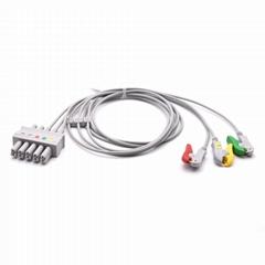 ECG Leadwires 3 Leads Grabber  Compatible Siemens