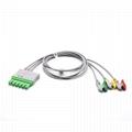 Draeger Compatible ECG Leadwire 3 Leads