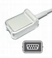 Bionet BM3,BM5 Spo2 adpater cable extension cable 3