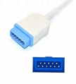 Datex Ohmeda OXY-ES3 Spo2 adpater cable extension cable