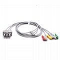 ECG Leadwire 5 Lead Grabber IEC