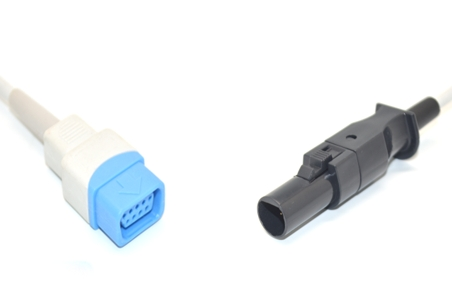 Datex Ohmeda TS-H3 Spo2 adpater cable extension cable 1