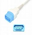 Datex Ohmeda TS-M3 Spo2 adpater cable extension cable