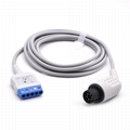 AAMI Compatible Din Style ECG Trunk Cable for 5 Lead