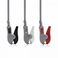 Drager Compatible Direct-Connect ECG Cable with 3 Leads Grabber