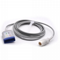 5 leads ECG Trunk Cable Compatible Philips