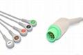 Fukuda Denshi Compatible Direct-Connect ECG Cable