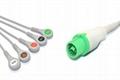 Fukuda Denshi Compatible One-piece ECG