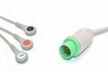 Kontron Compatible One-piece ECG Cable