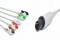 Mek Compatible Direct-connect ECG Cable