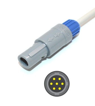 Goldway Vet 420A, Vet 600A Cardell Spo2 adpater cable extension cable 2