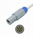 Goldway Vet 420A, Vet 600A Cardell Spo2 adpater cable extension cable