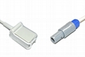 Goldway compatible UT4000F, Vet 420A Spo2 adpater cable extension cable