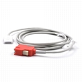 Masimo LNC-4,Rad-57, Rad-87 Spo2 adpater cable extension cable
