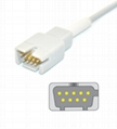 Masimo  DB9 Spo2 adpater cable extension cable