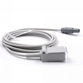 Mindray 0010-20-42594 Spo2 adpater cable extension cable,6pin-DB9F 2