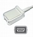 Mindray 0515-30-11221 Spo2 adpater cable extension cable,12pin-DB9F