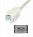 Nihon Kohden JL-900P Spo2 adpater cable extension cable 2