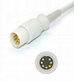 Schiller Argus TM-7 Spo2 adpater cable extension cable 2