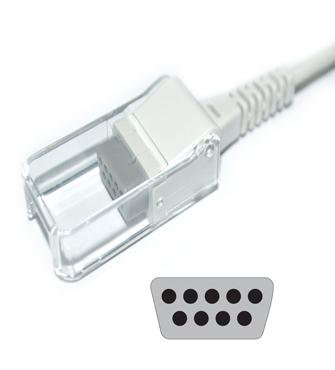 Schiller Argus TM-7 Spo2 adpater cable extension cable 3