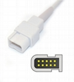 Spacelabs 700-0789-00 Spo2 adpater cable extension cable