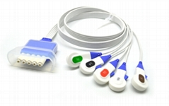 Disposable ECG Telemtry 5 Lead