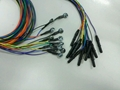 Din 1.5mm colorful eeg electrodes Ag/Cl plated silver for eeg machine