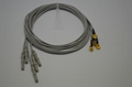 Din1.5mm gold plated copper snap eeg cup electrode for eeg machine